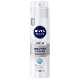 Nivea Sensitive Recovery pánsky gél na holenie 200ml