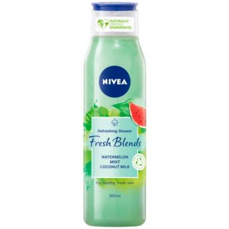 Nivea Fresh Blends Watermelon&Coconut dámsky sprchový gél 300ml