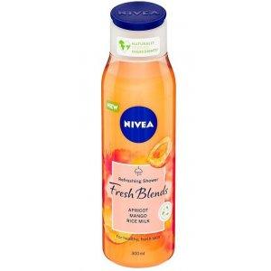 Nivea Fresh Blends Apricot,Mango a Rice oil dámsky sprchový gél 300ml