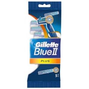 Gillette Blue 2 (Blue2) Plus strojček na holenie 5ks