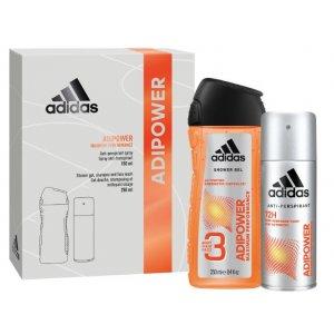 Adidas Adipower darčekový set pre mužov 2ks
