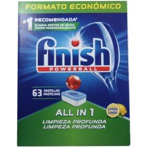 Finish All in 1 Lemon tablety do umývačky 63 ks