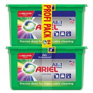 Ariel Professional Color All in Pods gélové tablety na pranie 84ks