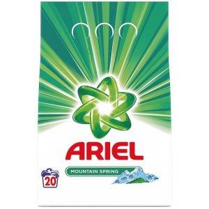 Ariel Mountain Spring prací prášok 1,5kg na 20 praní