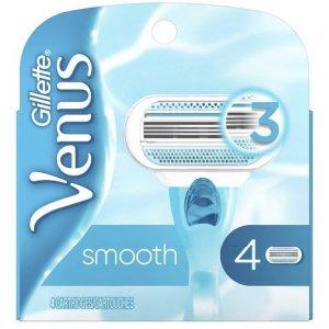 Gillette Venus Smooth dámske náhradné hlavice 4ks