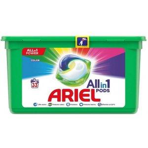Ariel Color gélové kapsule 33ks