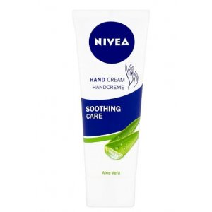 Nivea Soothing Care Aloe Vera krém na ruky 75ml