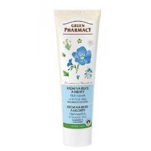 Green Pharmacy krém na ruky s harmančekom a ľanovým olejom 100ml