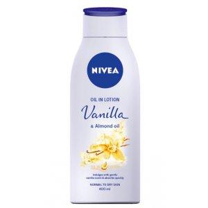 Nivea Vanilla&Almond oil dámske telové mlieko 400ml