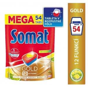 Somat Gold Lemon&Lime tablety do umývačky 54ks