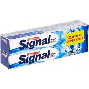 Signal zubná pasta 2x75ml Deep Fresh Aquamint duopack