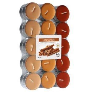 Bispol čajové sviečky 30ks - p15-30-65 cinnamon