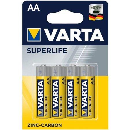Varta Superlife baterky AA 1,5V (4ks)