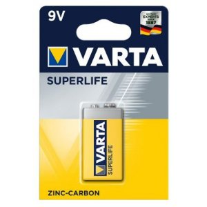Varta Superlife baterky 9V (1ks)