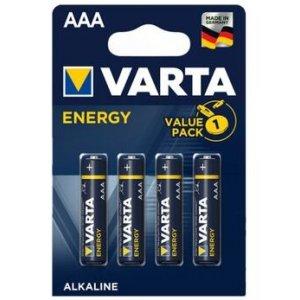 Varta Energy alkalické baterky LR03 AAA 1,5V (4ks)