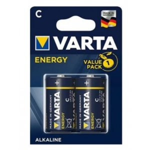 Varta Energy alkalické baterky LR14 1,5V (2ks) C