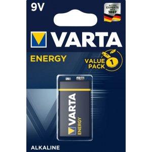 Varta baterky Energy 9V (1ks)
