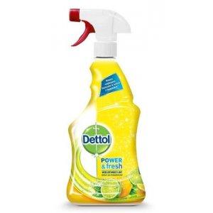 Dettol Power & fresh citrón antibakteriálny viacúčelový čistič na povrchy 500ml