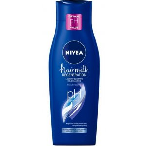 Nivea Hairmilk Regeneration Normal dámsky šampón na vlasy 400ml
