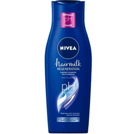 Nivea Hairmilk Regeneration Normal dámsky šampón na vlasy 400ml