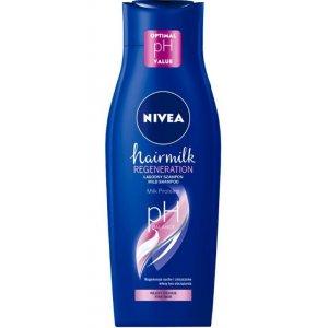 Nivea Hairmilk Regeneration dámsky šampón na vlasy 400ml