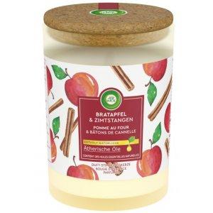 Air Wick Life Scents Essential Oils Pečené jablko&škorica sviečka 185g