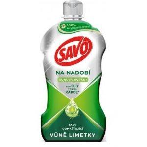 Savo Limetka koncentrovaný a odmasťujúci saponát na riad 450ml