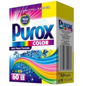 Purox Box Color prací prášok 5kg na 60 praní