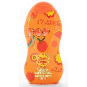 Chupa Chups pena a sprchový gél Orange Scent 400ml