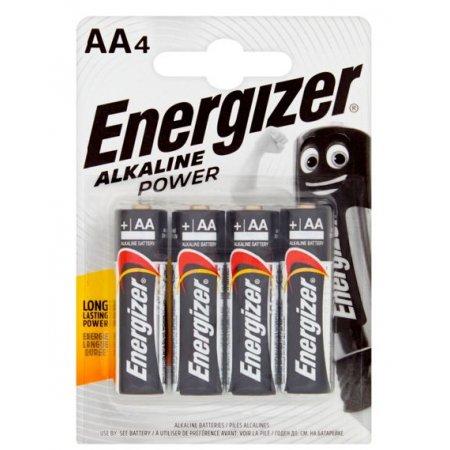 Energizer Alkaline Power AA alkalické baterky 4ks