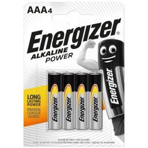Energizer Alkaline Power AAA alkalické baterky 4ks