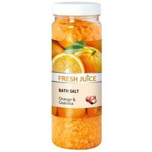 Fresh Juice Orange&Guarana soľ do kúpeľa 700g