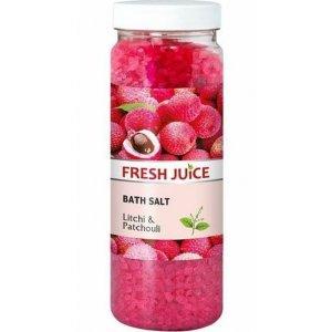 Fresh Juice Litchi&Patchouli soľ do kúpeľa 700g