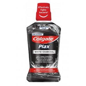 Colgate Plax White+Charcoal ústna voda 500ml
