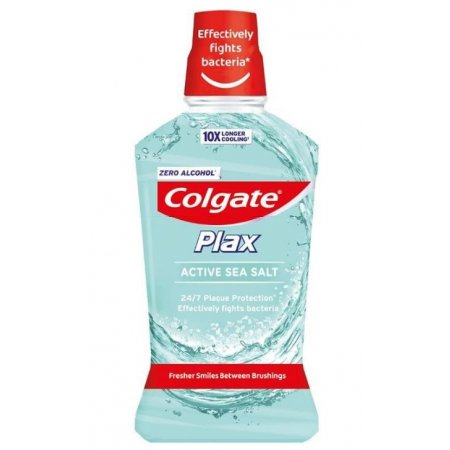 Colgate Plax Active Sea Salt ústna voda 500ml