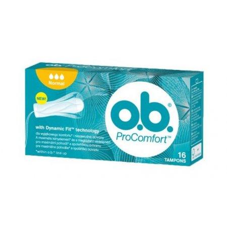 O.B. Pro Comfort Normal tampóny 16ks
