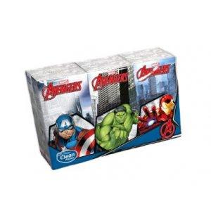 KIDS Avengers vreckovky 6x10ks 4-vrstvové