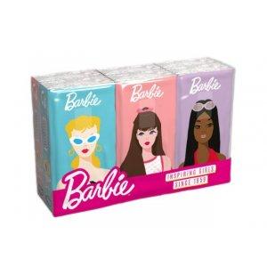 KIDS Barbie vreckovky 6x10ks 4-vrstvové