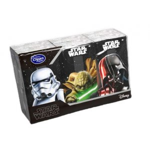 KIDS Star Wars vreckovky 6x10ks 4-vrstvové