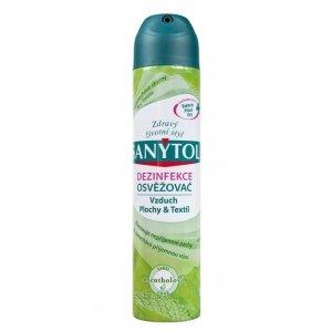 Sanytol Mentol dezinfekčný osviežovač vzduchu na plochy a textil 300ml
