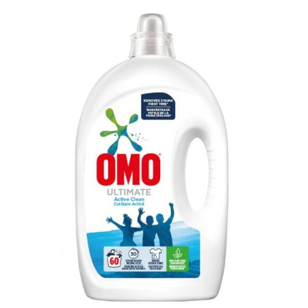 Omo Ultimate Active Clean prací gél 3l na 60 praní