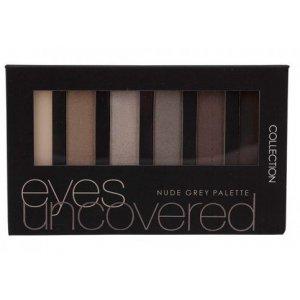 Collection Nude Grey kazeta očných tieňov (6-kusové)