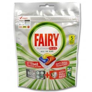 Jar kapsule (Fairy) 5ks Platinum Plus All in One Lemon
