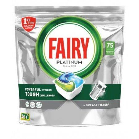 Jar Fairy Platinum All in 1 kapsule do umývačky 75ks