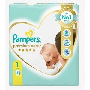 Pampers Premium Care 2-5kg veľ.1 78ks
