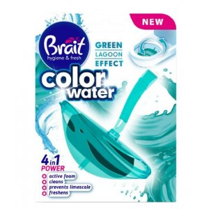 Brait Green Lagoon Color Water 4v1 WC záveska 40g