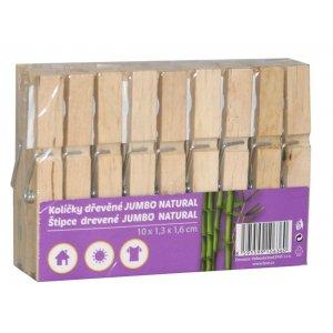 Home Point štipce na prádlo JUMBO drevené 18ks
