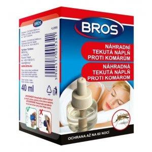 Bros náhradná tekutá náplň proti komárom 40ml