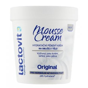 Lactovit Original Mousse Cream 250ml