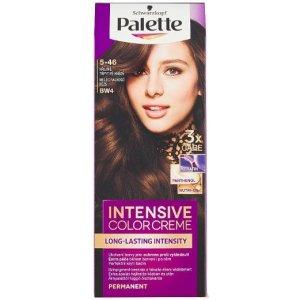 Palette farba na vlasy 5-46 Teplá trblietavo hnedá